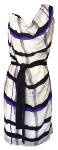 Escada short dress White, Gray, Lavender Kerry Washington Olivia Pope on Tradesy