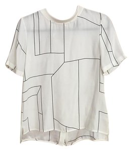 Theory Silk Top white