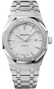 Audemars Piguet Royal Oak Silver Dial Stainless Steel Automatic Men's Watch 15400ST.OO.1220ST.02