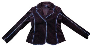 Luii Dress Jacket Tailored P1096 Inv Size Medium brown, blue Blazer