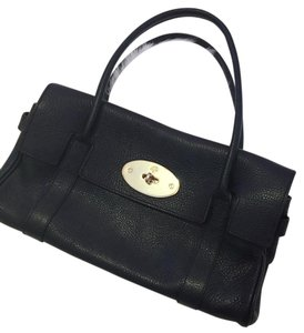 Mulberry Black Beach Bag