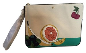 Tory Burch Wristlet in NATURAL MULTI COLORS