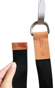 Burberry London Burberry double ring casual belt