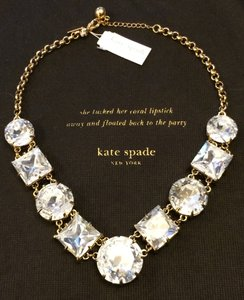 Kate Spade Rare Lobster Clasp NWT Kate Spade Crystal Kaleidoscope Necklace MSRP$298