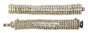 Albert Weiss Beautiful Signed Weiss Bracelets,6 row one is excellent condition with a 7th center row