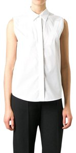 MM6 Maison Martin Margiela Button Down Shirt White