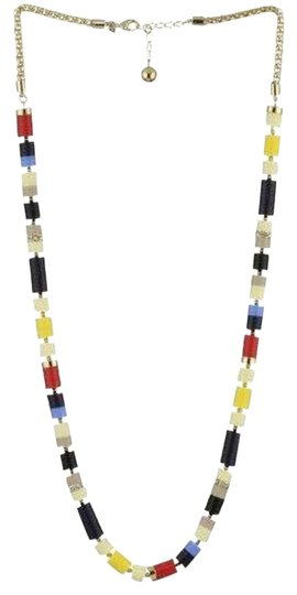 Kate Spade Rare NWT Kate Spade Mad for Mondrian Necklace - MOMA Mondrian Colors So Cool!