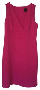Ann Taylor short dress Deep Pink on Tradesy