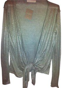 Anthropologie Shimmery Evening Accent Sparkle Casual Cardigan