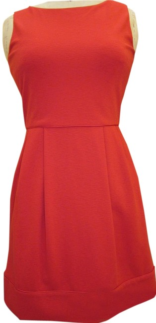 Preload https://img-static.tradesy.com/item/16661677/diane-von-furstenberg-tomato-red-dvf-sleeveless-wool-short-cocktail-dress-size-8-m-0-1-650-650.jpg