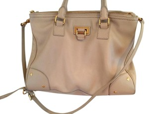 Marc Jacobs Leather Tote in Tan