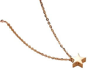 Mini Star Necklace 18k Rose Gold