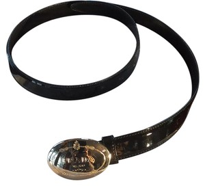 Prada Prada black patent leather belt