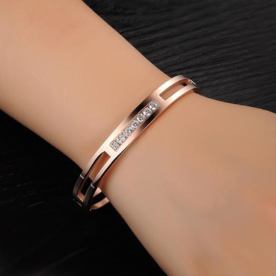 Other Bling On the Layers Large Bangle