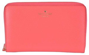Kate Spade New Kate Spade Grand Street Leather Zip Around Travel Organizer Clutch Wallet