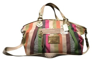 Coach Diaper Cross Body Multicolor Hobo Bag