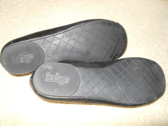 Other Leather black Flats