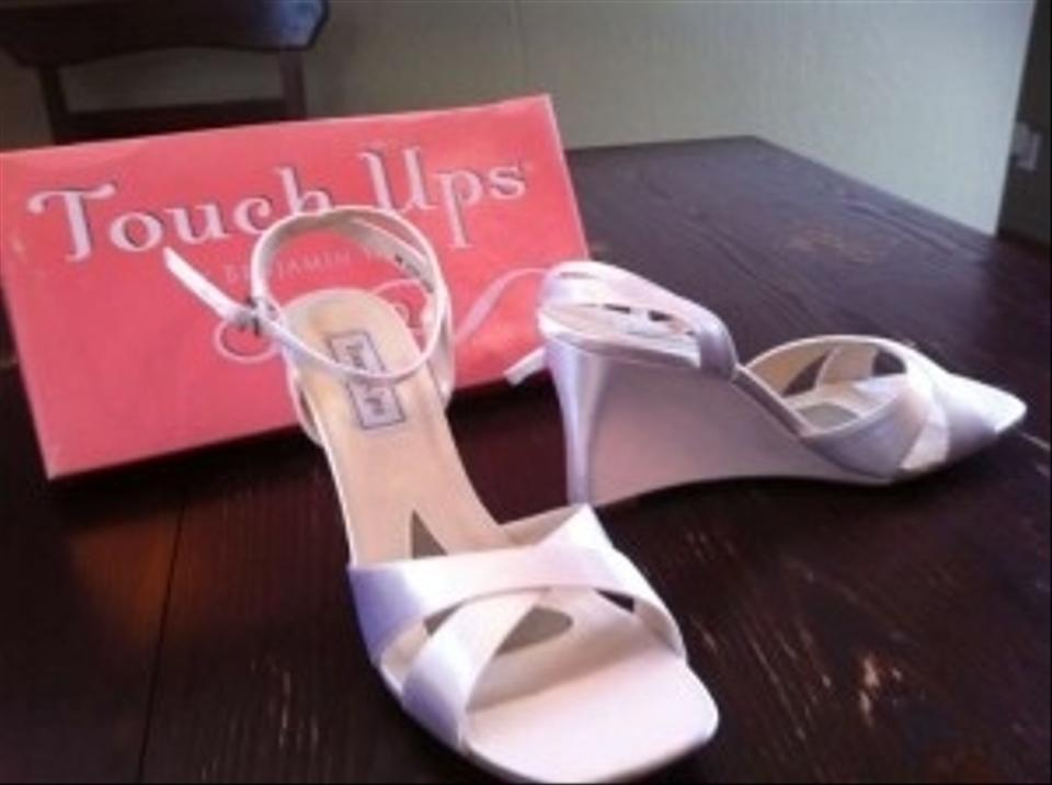 Touch Ups Sandal Wedge Dyeable Wedding Shoes