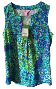 Lilly Pulitzer Top Sea blue