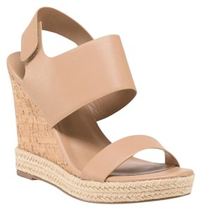 Charles by Charles David Neutral Nib Nude Wedges