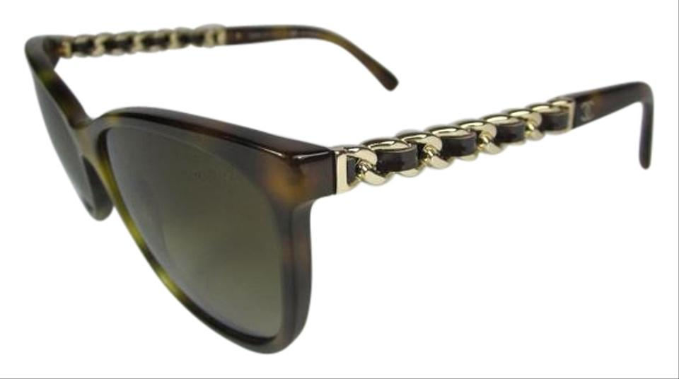 ee44009be119d Chanel Tortoise Shell Wayfarer - Brown Chain