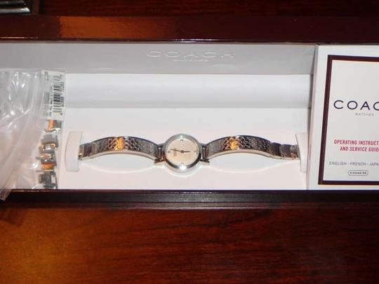 Coach Coach Watch with Diamond Accents