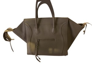 Céline Leather Summer Tote in Neutral