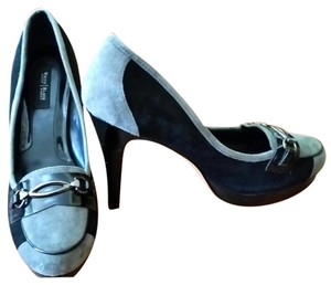 White House | Black Market Black, Gray, Silver Pumps
