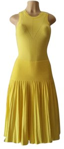 MILLY short dress yellow on Tradesy