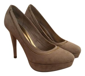 Kenneth Cole Reaction Beige Heel Nude Platforms