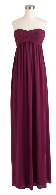 Preload https://item2.tradesy.com/images/jcrew-crushed-berry-eve-in-liquid-jersey-long-formal-dress-size-4-s-1666806-0-0.jpg?width=400&height=650