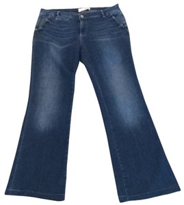 1921 Jeans Boot Cut Jeans-Medium Wash