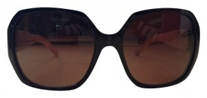 Burberry Oversized Mod Jackie O Sunglasses