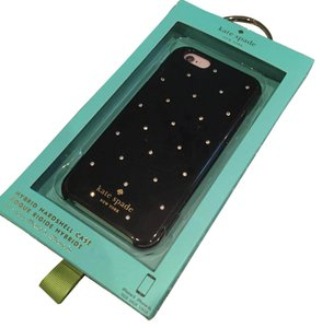 Kate Spade NIB Kate Spade Hybrid Hardshell Case for iPhone 6- Black with Crystals