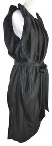 Vivienne Westwood short dress Black Anglomania Liquid Silk Belted Tunic on Tradesy