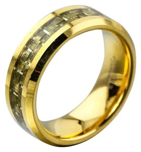 Other Tungsten Carbide Gold Tone Band