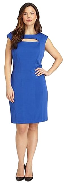 Preload https://item2.tradesy.com/images/kay-unger-royal-blue-new-york-cutout-knit-above-knee-short-casual-dress-size-4-s-1666991-0-0.jpg?width=400&height=650