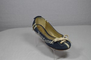 Juicy Couture Navy Blue Flats