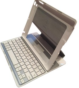 Belkin Belkin Ultimate Keyboard Case for iPad in Silver- Model F5L149