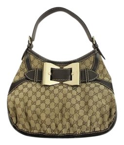 Gucci Leather Shouder Hobo Bag