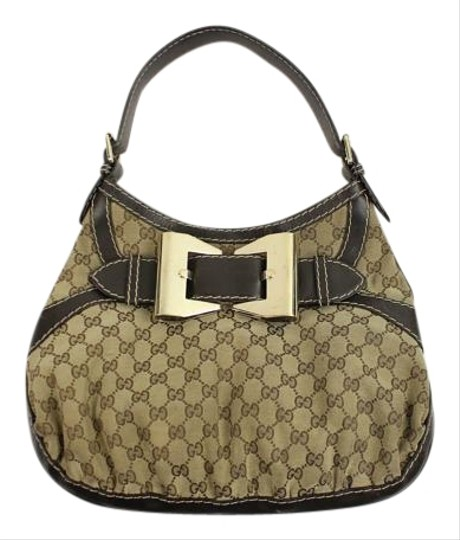 Gucci Leather Hand Hobo Bag