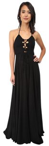 black Maxi Dress by Rachel Pally Maxi Halter