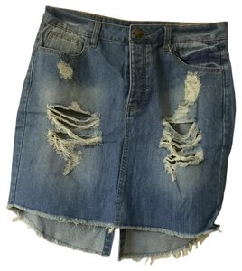 Forever 21 Mini Skirt Denim