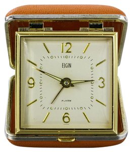 Elgin Elgin Vintage Travel Alarm Luminous Clock