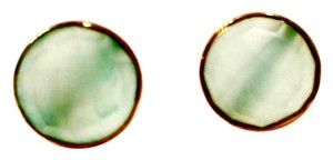Argento Vivo faceted round labradorite stud earrings