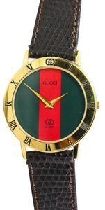 Gucci * Gucci Gold Tone 300 1 M Watch