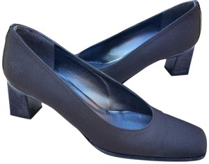 Stuart Weitzman 90's Classic Wear To Work Wolf Of Walstreet Black Pumps