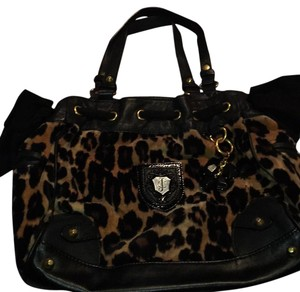 Juicy Couture Tote in Black/brown