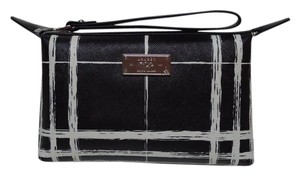 Lauren Ralph Lauren Raplh Cosmetic Wristlet in Black/White
