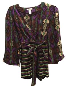 Other Top Green, purple, brown